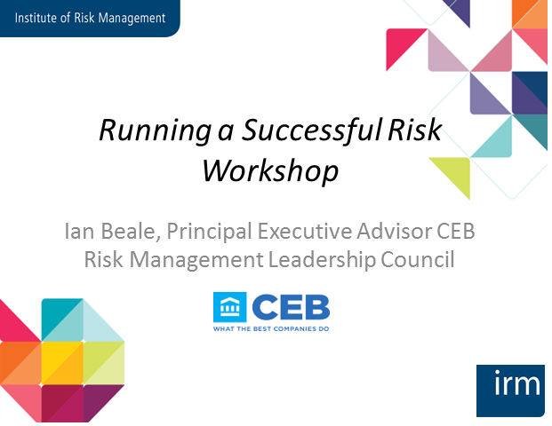 Running Successful Risk Workshops