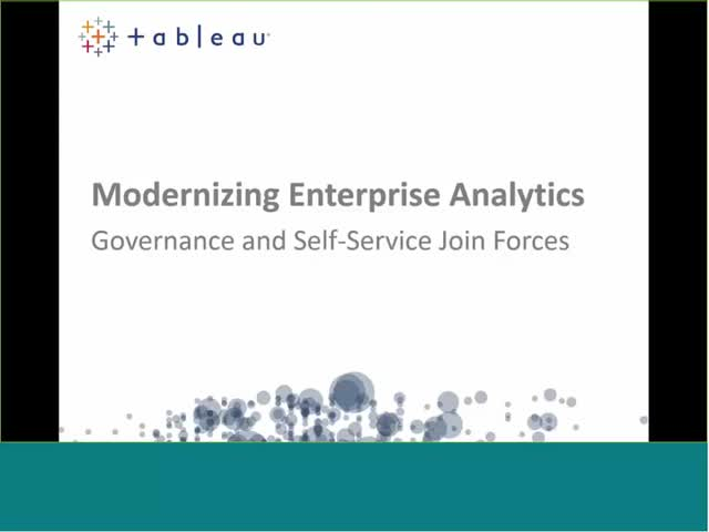 Data Governance for a Culture of Analytics