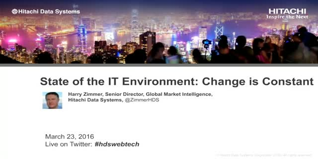 State of the IT Environment: Change is Constant