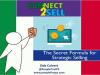 The Secret Formula for Strategic Selling