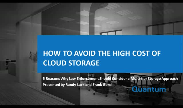 How to Avoid the High Cost of Cloud Storage