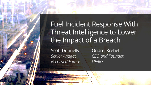 Fuel Incident Response With Threat Intelligence to Lower Breach Impact