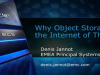 Why Object Storage for the Internet of Things