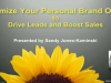 Maximize Your Personal Brand to Drive Leads and Boost Sales