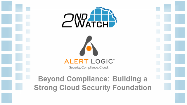Beyond Compliance: Building a Strong Cloud Security Foundation