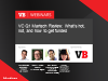 VC Q1 Martech Review: What's hot, not, and how to get noticed