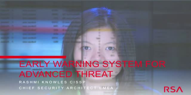 Early Warning Systems for Advanced Threat