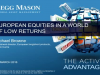 European equities in a world of low returns