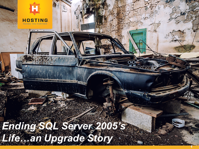 Don't Get Caught with An Out of Support MS SQL Server…