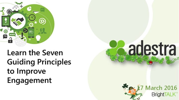 Learn the Seven Guiding Principles to Improve Engagement