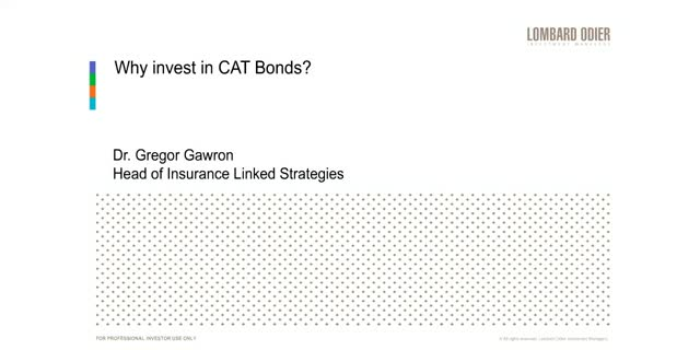 Why invest in CAT Bonds?