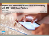 Expand your Partnership to the Cloud by Innovating with SAP HANA Cloud Platform