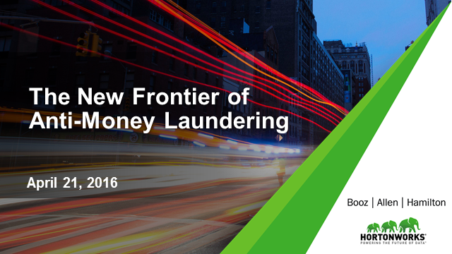 The New Frontier of Anti-Money Laundering