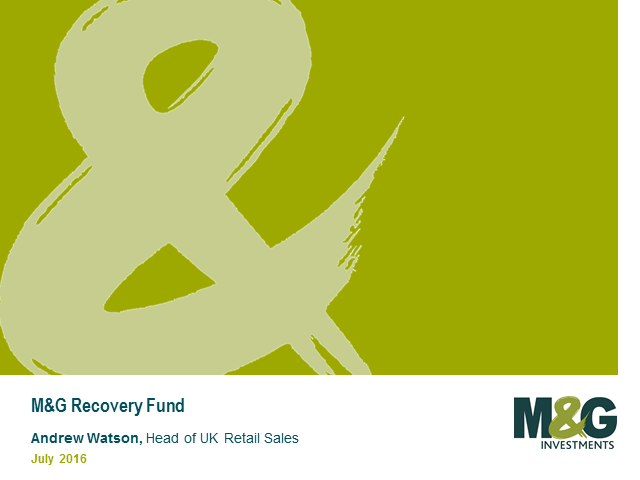 M&G Recovery Fund Webcast with Tom Dobell