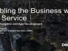 Enabling the Business with Self Service Big Data, Analytics and AppDev