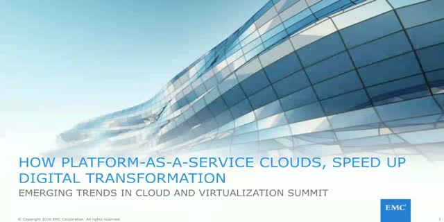 How Platform-as-a-Service Clouds Speed up Digital Transformation