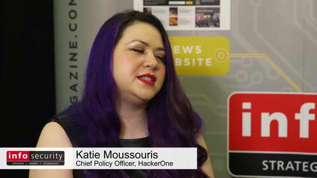 Live From RSA- Katie Moussouris, HackerOne