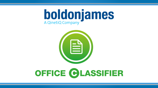 Boldon James | How to Classify Office Documents