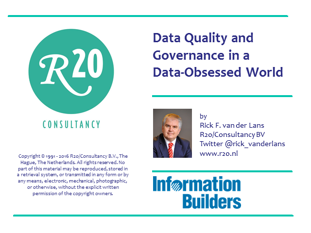 Data Quality and Governance in a Data-Obsessed World