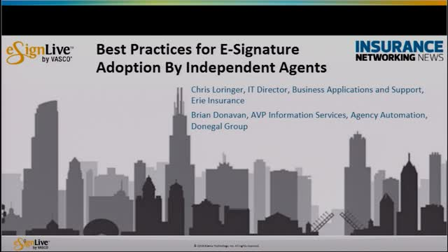 Best Practices for eSignature Adoption by Independent Agents
