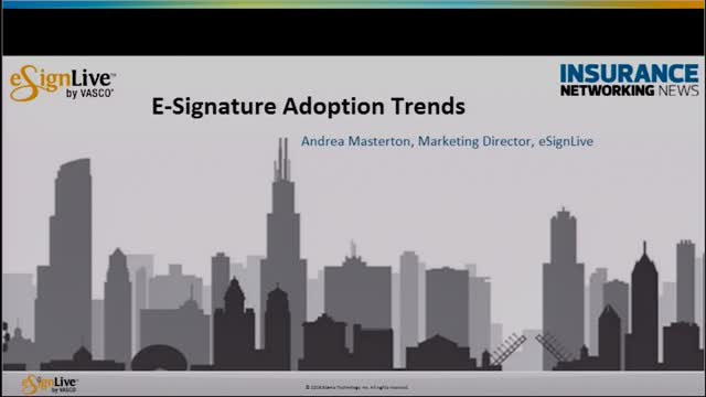 E-Signature Adoption Trends in Insurance