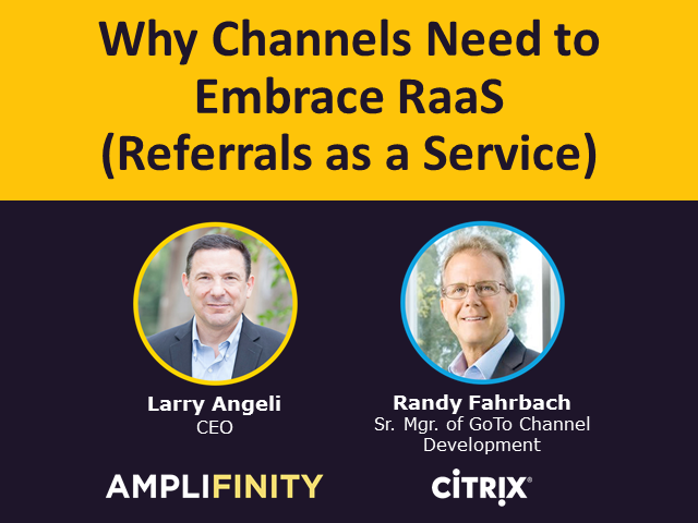 Why Channels Need to Embrace RaaS (Referrals as a Service)