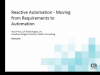 Reactive Automation – It's not automation until manual processes are removed