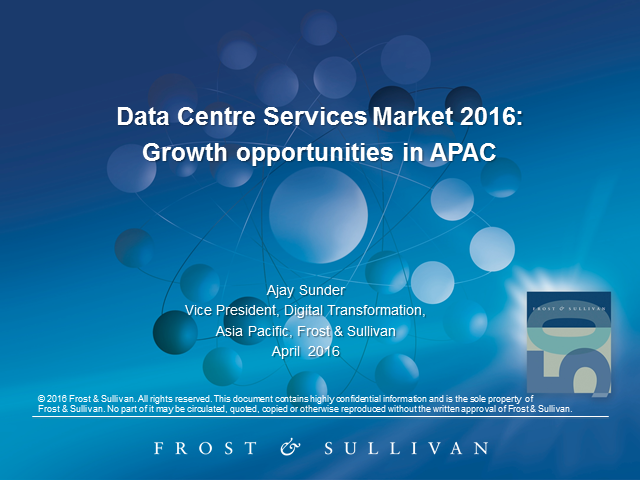 Asia-Pacific Data Centre Services Outlook 2016