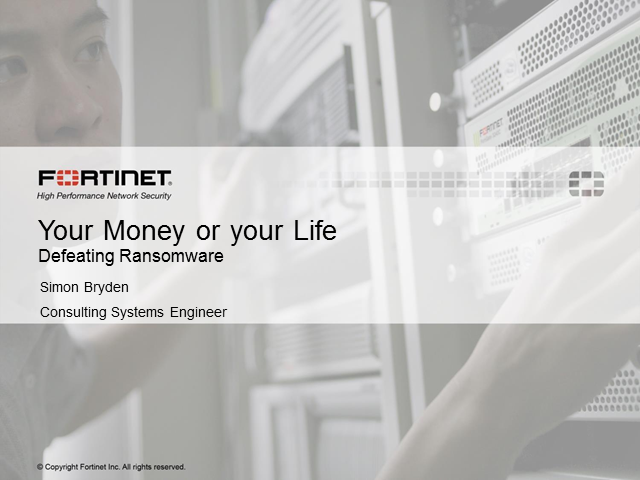 Your Money or Your Life: Defeating Ransomware