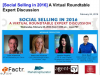 Social Selling in 2016: A Virtual Roundtable Expert Discussion