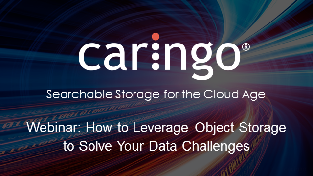 How to leverage object storage to solve your data challenges