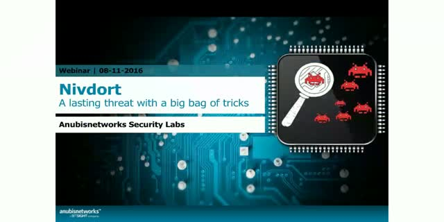 Nivdort: A long lasting threat with a big bag of tricks