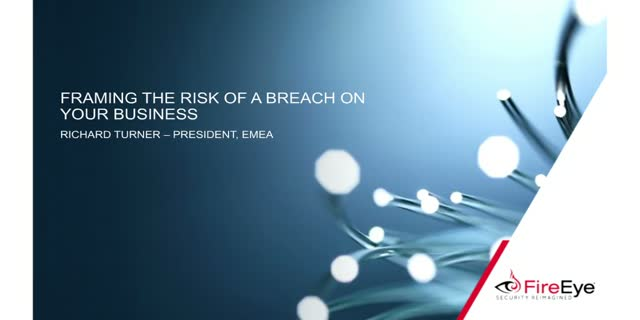 Framing the risk of a breach on your business