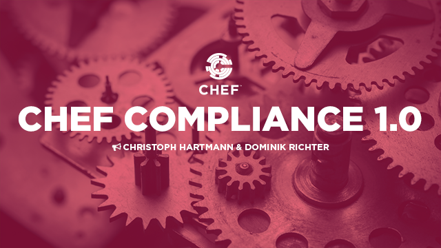 Chef Compliance 1.0
