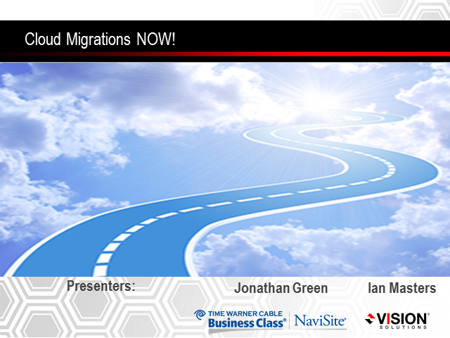 Cloud Migrations Now!