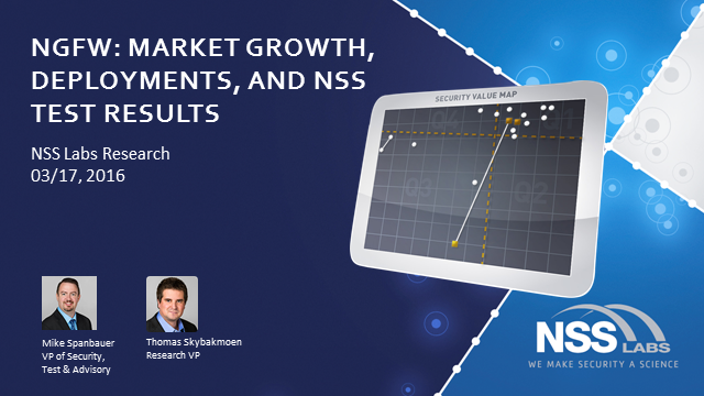 Next Generation Firewall Systems - Market Growth, Deployments, NSS Test Results