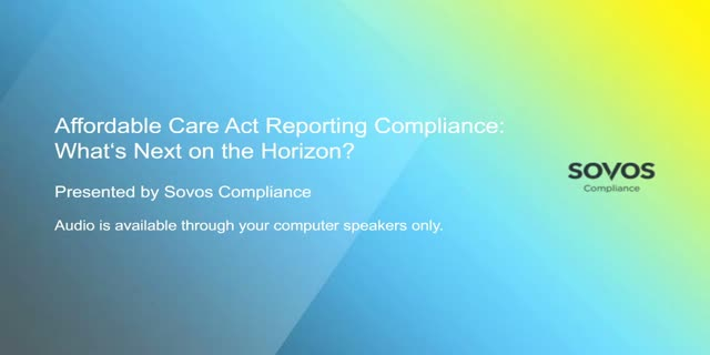 Affordable Care Act Reporting Compliance: What's Next on the Horizon?