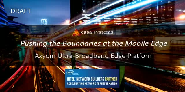 Pushing the Boundaries at the Mobile Edge