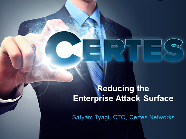 Reducing the Enterprise Attack Surface with Cloud-Friendly App Segmentation