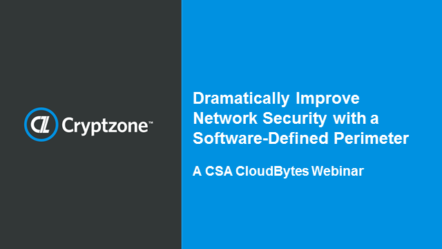 Dramatically Improve Network Security using SDP