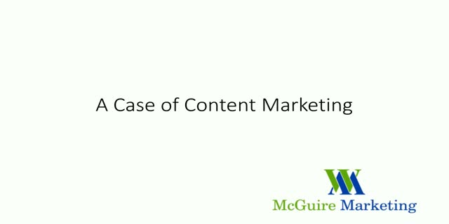 A Case of Content Marketing