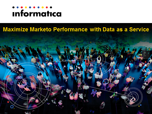 Meet the Experts - Maximize Marketo Performance with Data as a Service