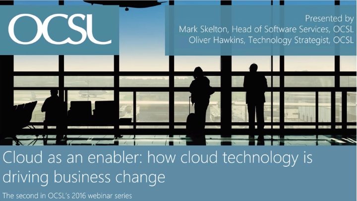 How cloud technology is enabling business change