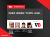 Content Marketing: The 2016 version