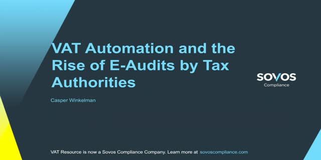 VAT automation and the rise of e-audits by tax authorities