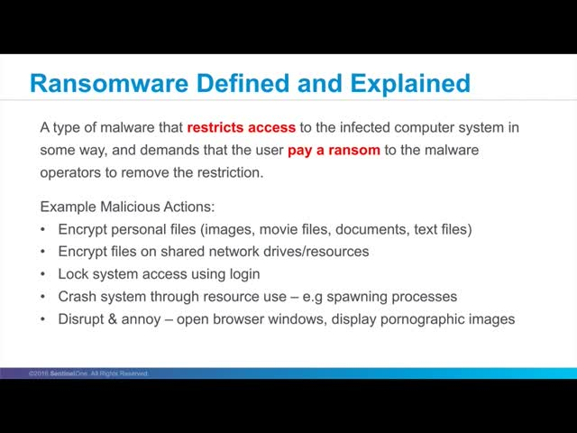 The Rise of Ransomware & How to Prevent It