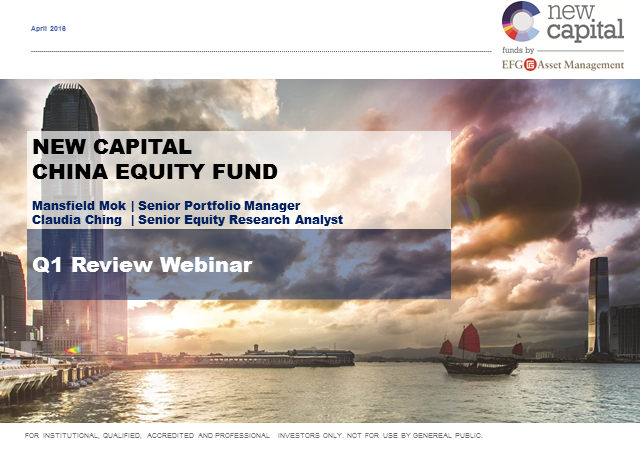New Capital China Equity Fund Q2 Update