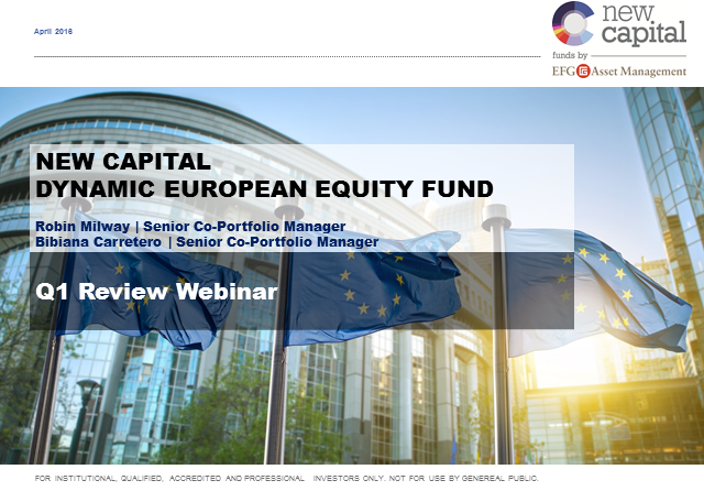 New Capital Dynamic European Equity Fund Q2 Update