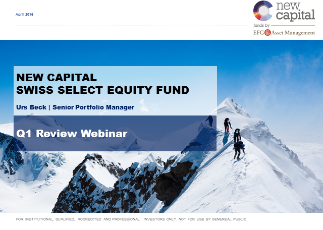 New Capital Swiss Select Equity Fund Q2 Update