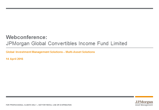 Fund update: JPMorgan Global Convertibles Income Fund Limited